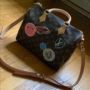 Louis Vuitton limited edition world tour Speedy